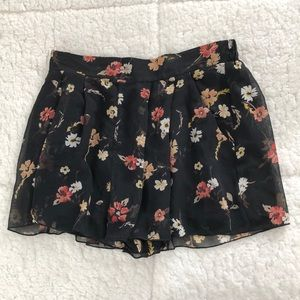 LF floral shorts